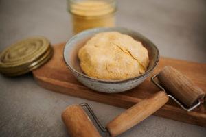 pâte à base de farine de maïs