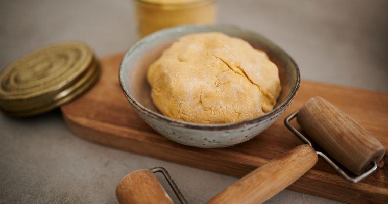 Ma pâte à tarte salée à base de farine de maïs