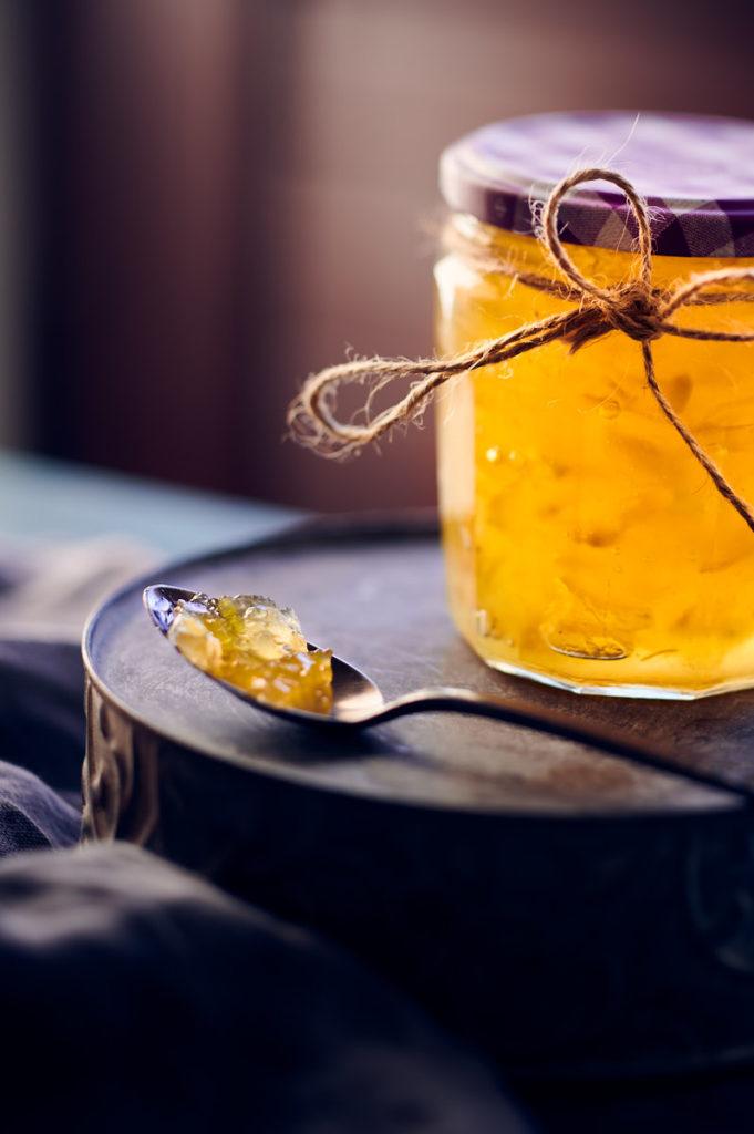 pot de marmelade au cédrat