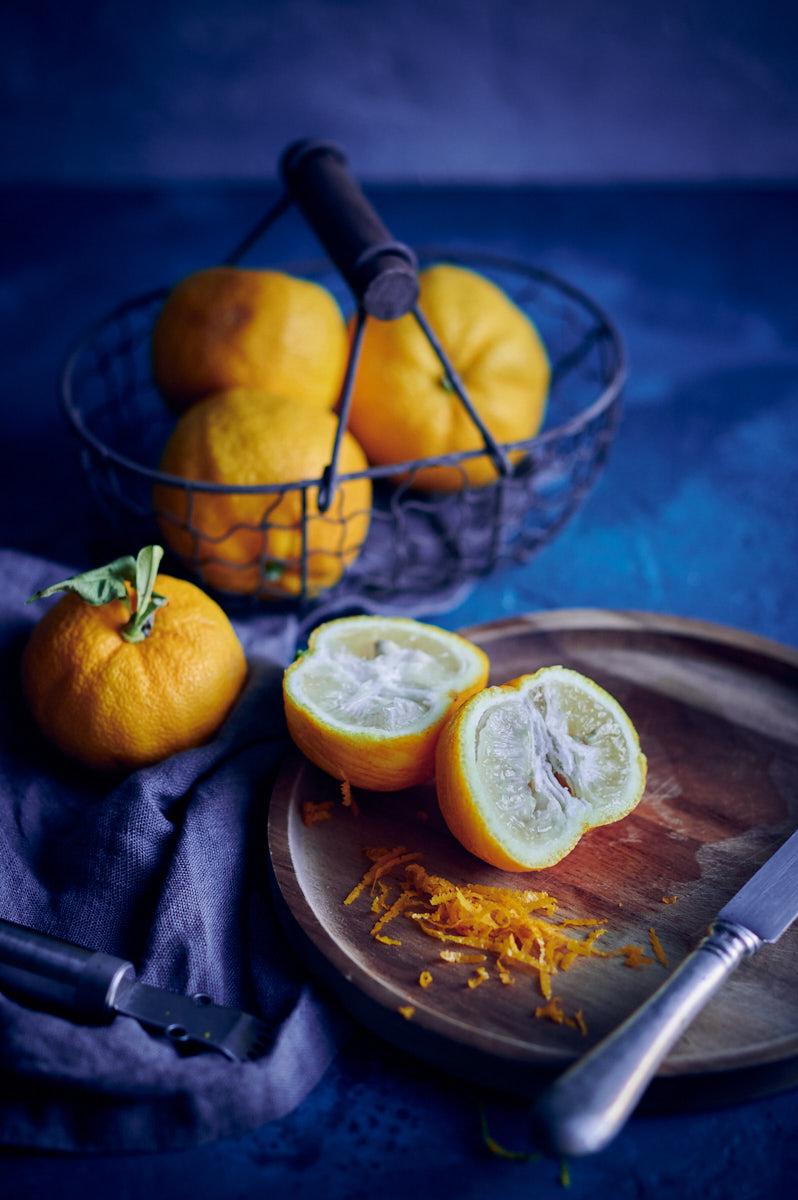 marmelade yuzu & main de Bouddha ingrédients