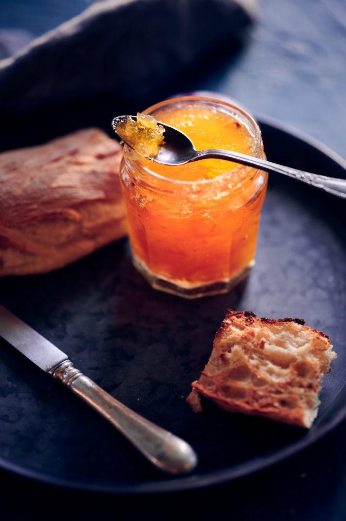 marmelade yuzu & main de Bouddha dégustation