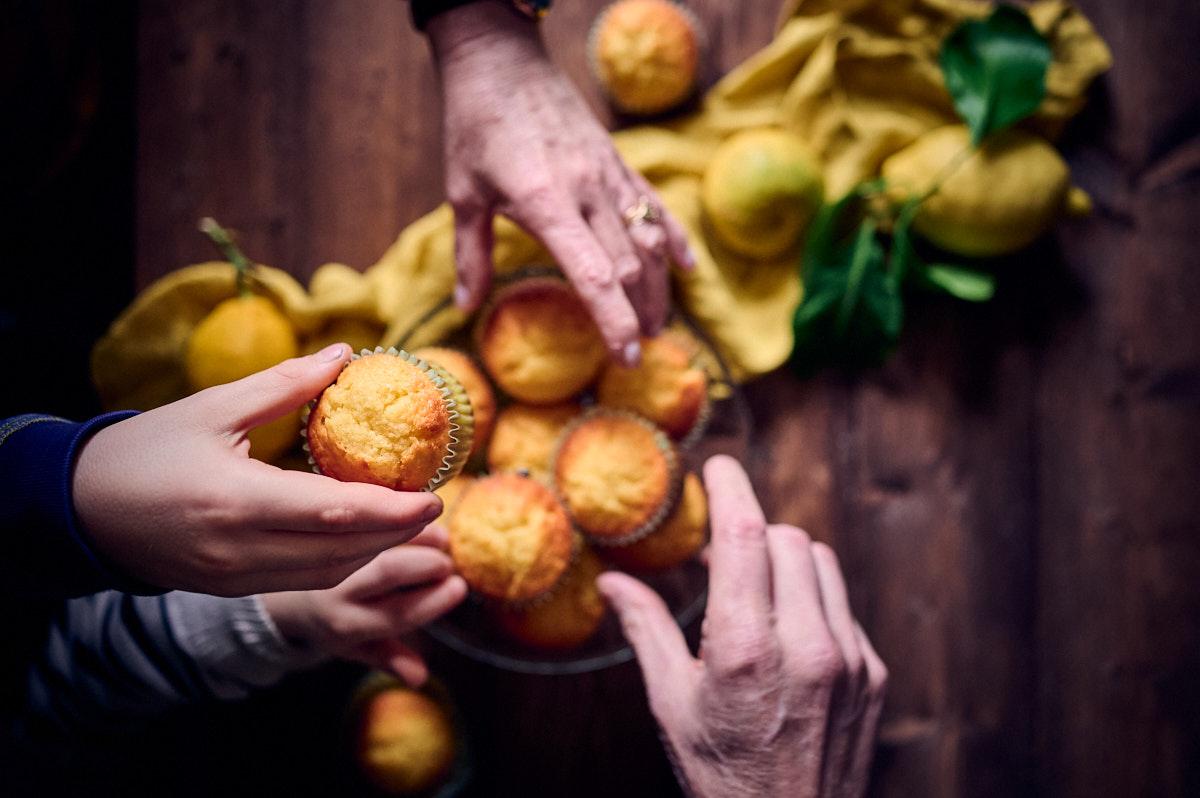Petits gâteaux moelleux au citron bergamote