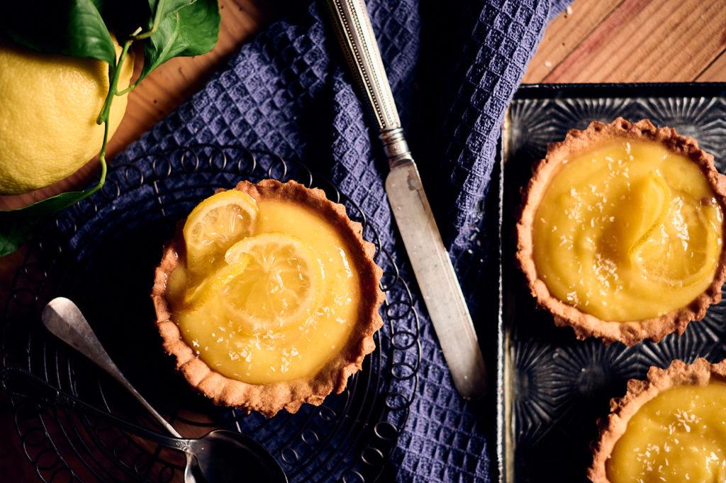 tarte originale au citron bergamote