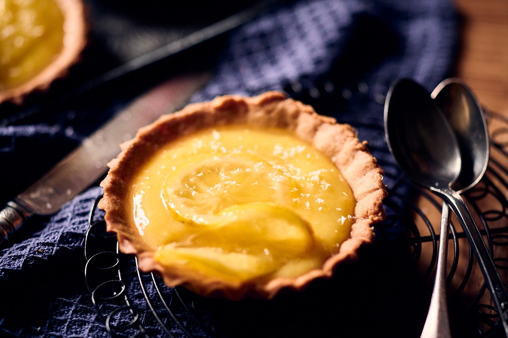 Tartelettes au curd citron bergamote