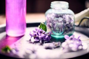 Recettes à base de violettes