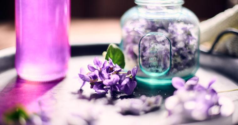 Recettes pour utiliser les violettes