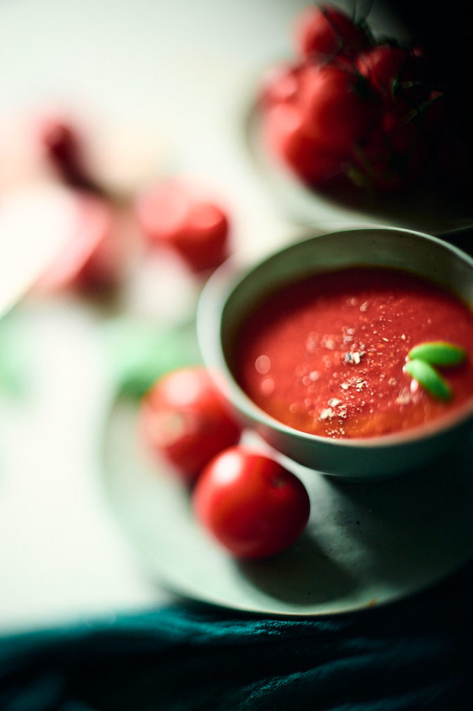 freelensing et photographie culinaire