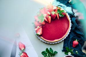 Tarte fraises et citron