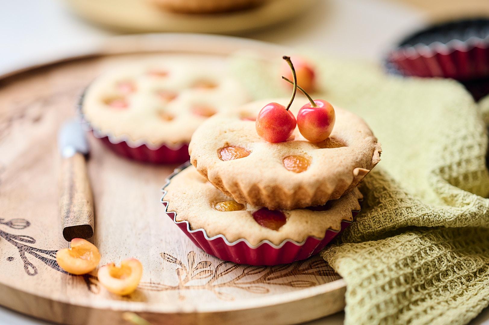 Gâteau rapide aux cerises