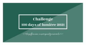 100 days of lumière 2021