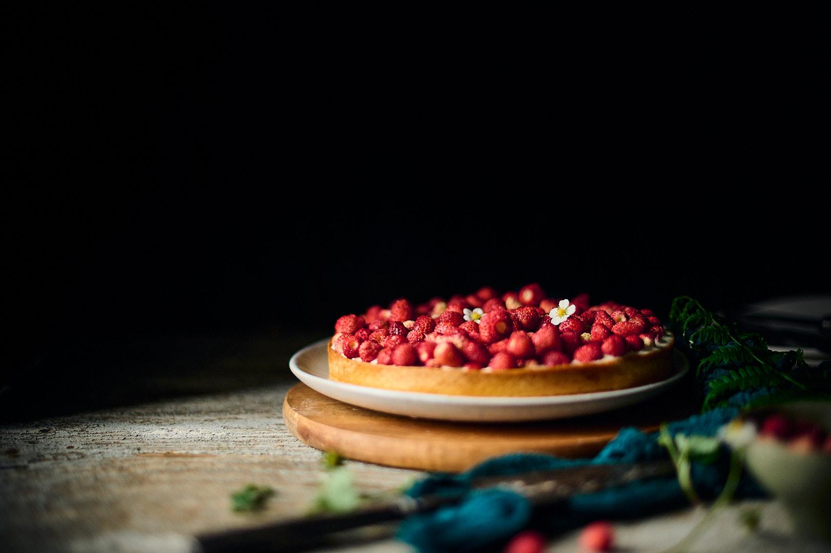 Tarte fraises des bois