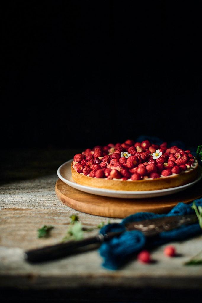 recette avec des fraises des bois